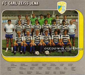 Carl Zeiss Jena Programm 1984//85 Erzgebirge Aue
